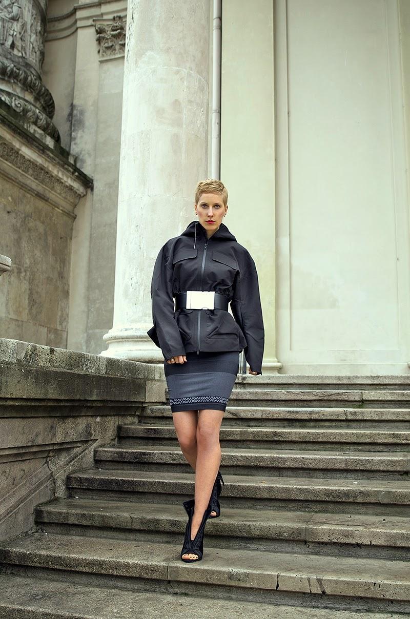alexander wang x h&m windbreaker jacket beeswonderland