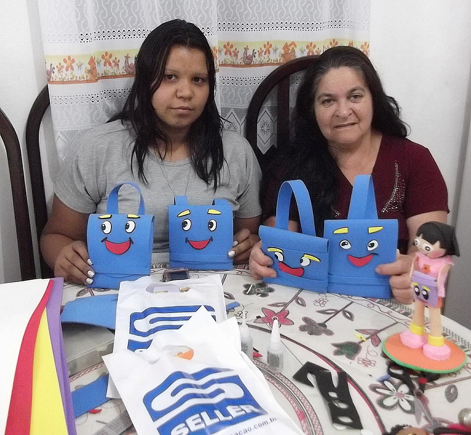 Curso Mochila Dora Aventureira em EVA Seller