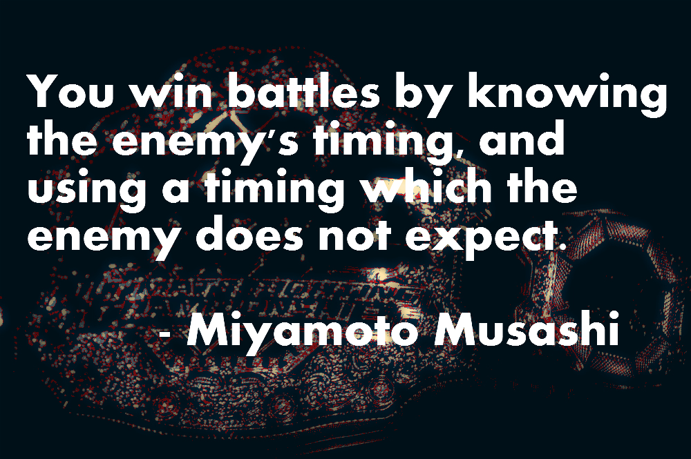 Musashi Five Rings Quotes