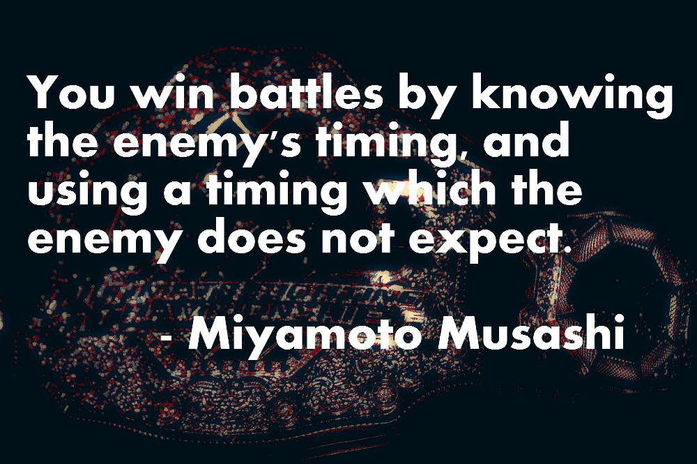 Miyamoto Musashi Book Of Five Rings Quotes
