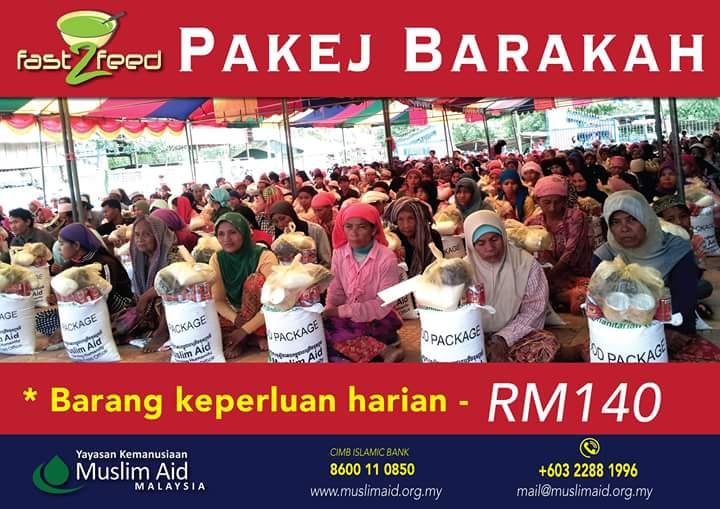 saluran derma Ramadhan 2015