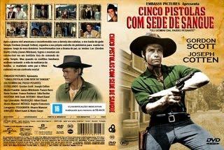 CINCO PISTOLAS COM SEDE DE SANGUE (1965) NOVA CÓPIA