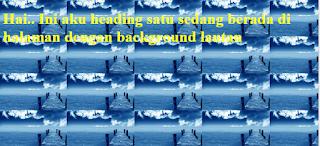 Belajar CSS Background