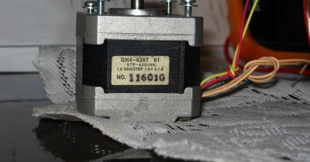 Поделки из шагового двигателя 16