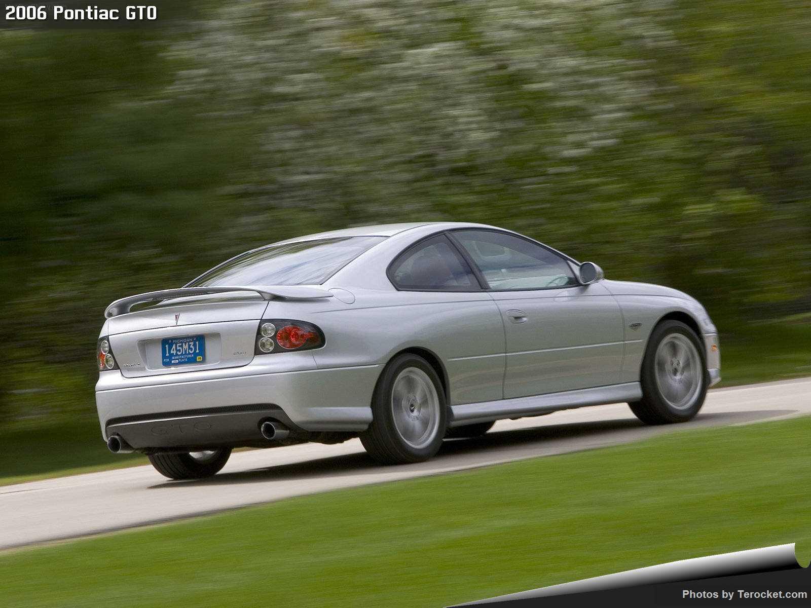 Hình ảnh xe ô tô Pontiac GTO 2006 & nội ngoại thất
