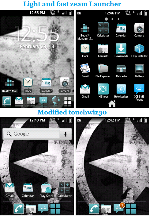 Remix v1 Custom Rom for Samsung Galaxy Y GT-S5360