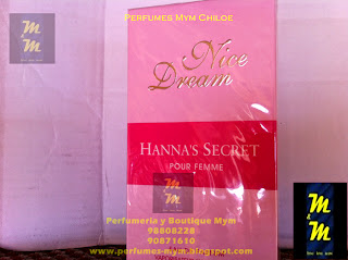 perfume nice dream hanna's secret pour femme