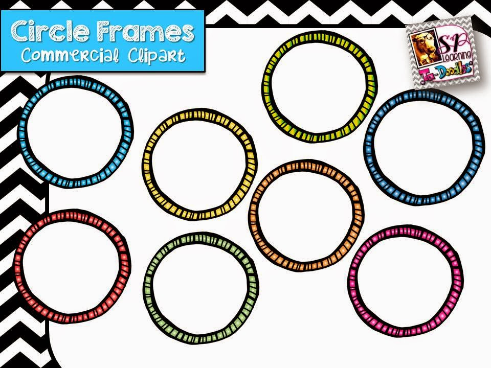 http://www.teacherspayteachers.com/Product/Circle-Frames-in-a-Variety-of-Colors-1398400
