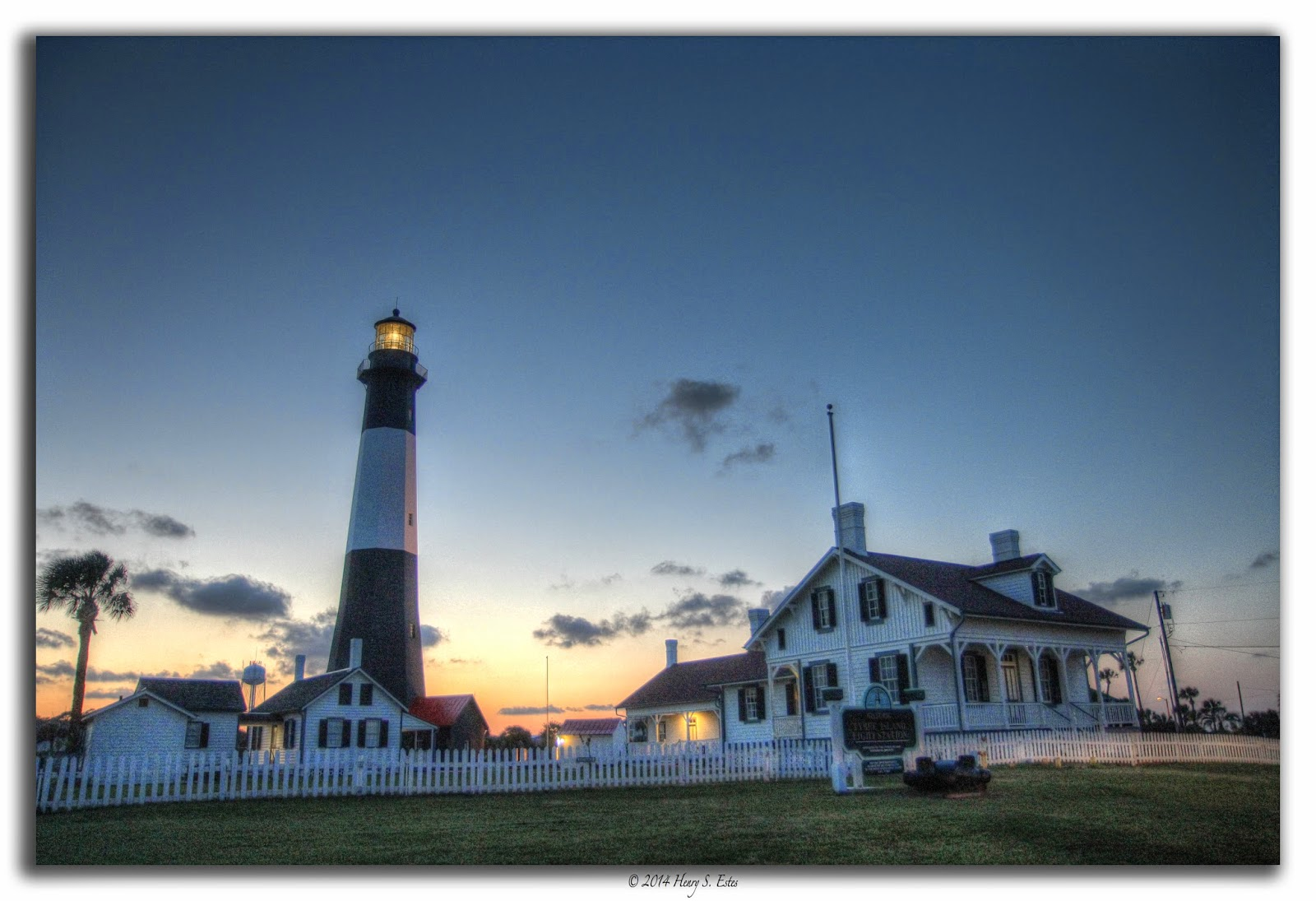 Tybee Lighthouse at Sunset