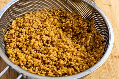 Kalyn's Kitchen®: Recipe for Vegan Farro and Roasted Sweet ...