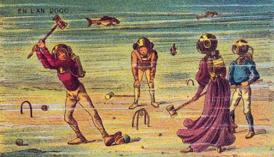 Kartu Pos Kuno Yang Meramal Masa Depan