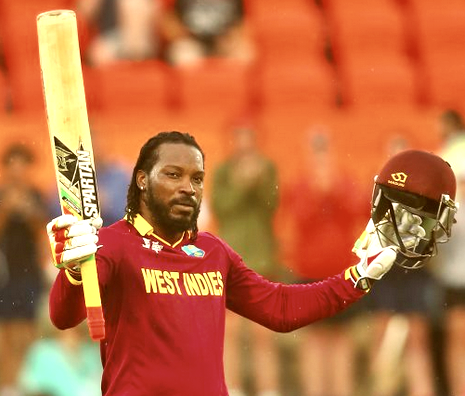 Chris Gayle double century pic