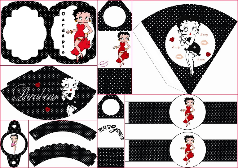 Betty Boop Free Party Printables Oh My Fiesta For Ladies