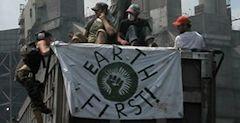 "Christopher Manes, líder do ""Earth First"":"