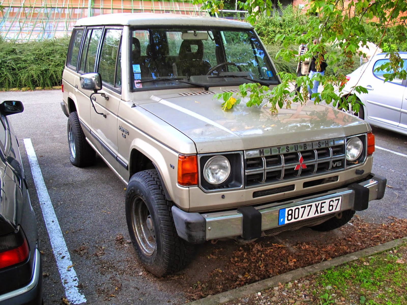1982 1991 mitsubishi montero ls 4 door us version france