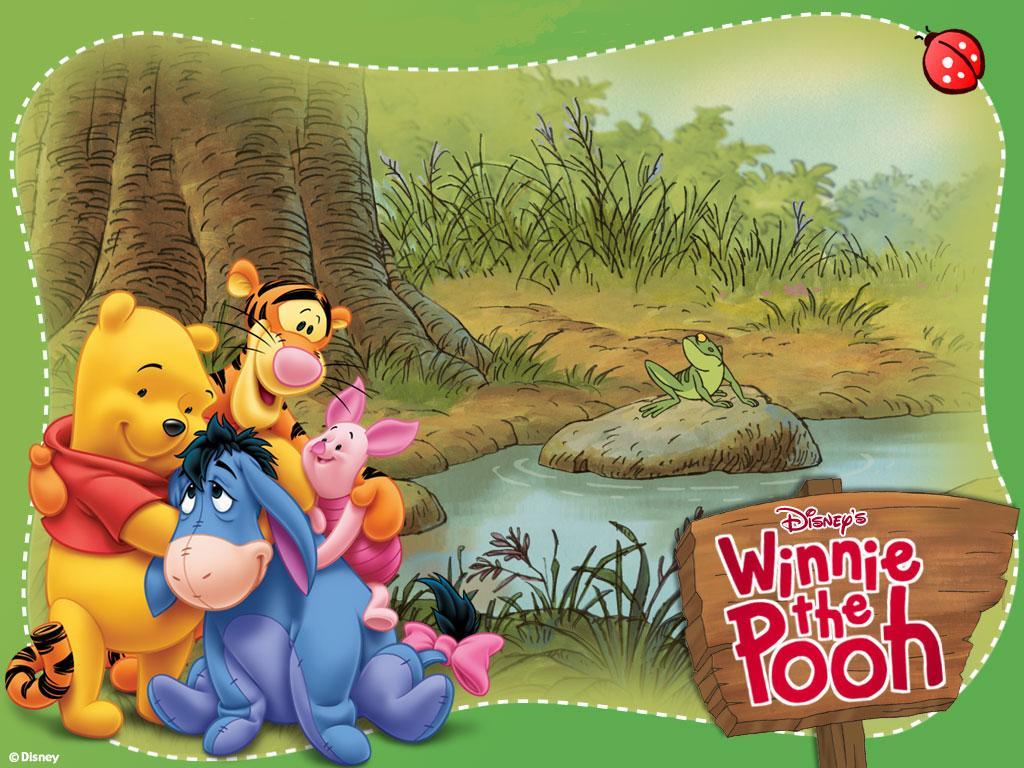 Todo Disney: Fondo de pantalla Winnie de Pooh
