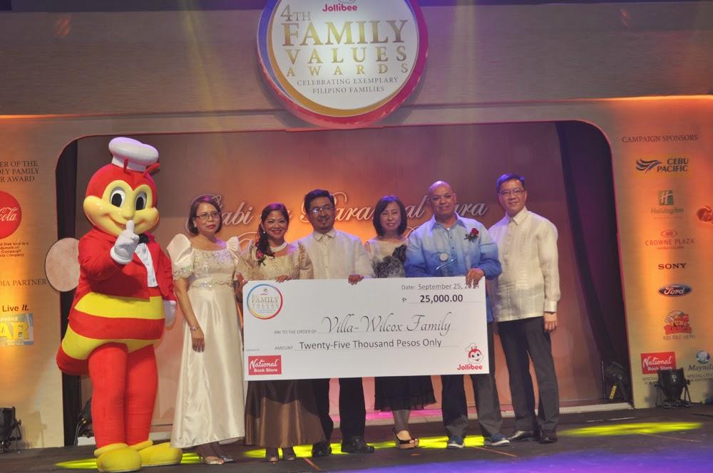 Jollibee 4th Family Values Awards - Rochelle Rivera