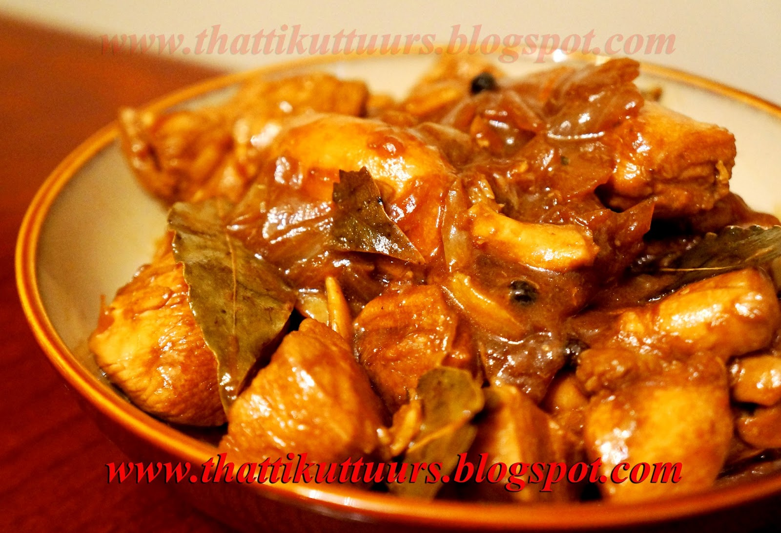 Chicken Adobo (Chicken Cooked In Soy Sauce And Vinegar) Recipe ...