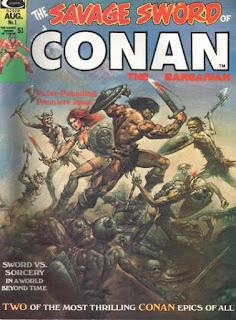 Portada Savage Sword of Conan #1