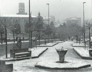 La última gran nevada en Vigo se produjo en 1987