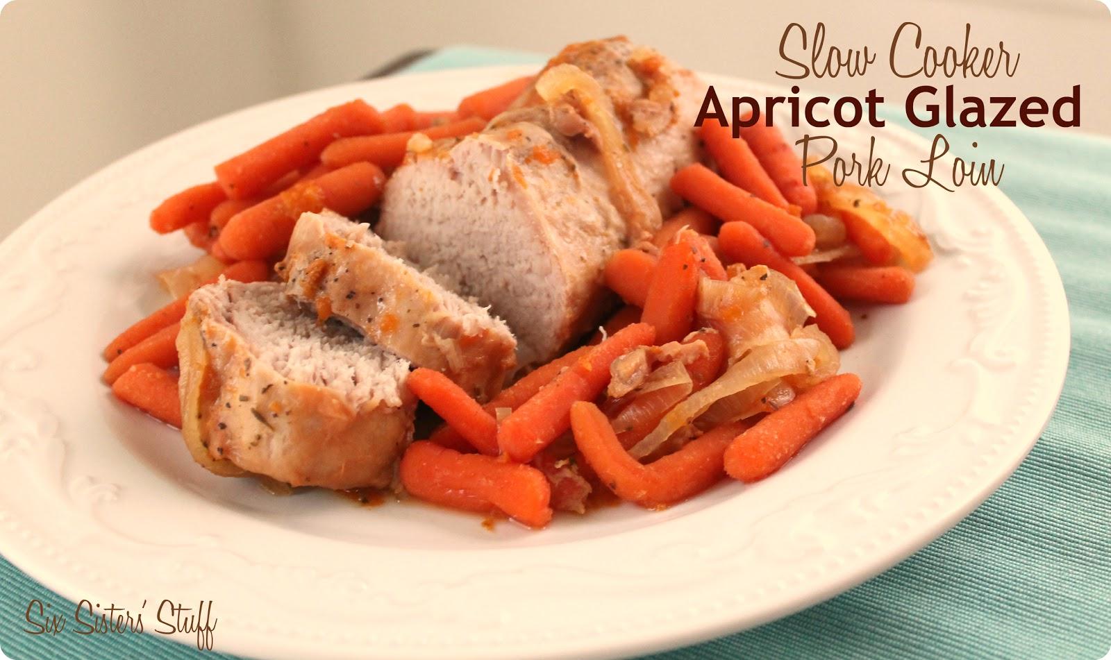 Apricot glazed pork tenderloin recipe