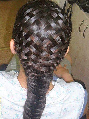 amazing texture hair Braid
