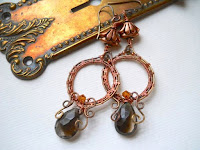 MagPie Approved: Wind Dancer Studios Smokey Quartz Earrings