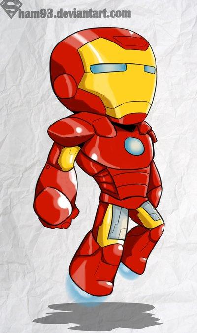 Iron Man chibi por sham93