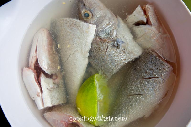Season fish with salt 1 teaspoon black pepper 1 for Trinidad fish broth
