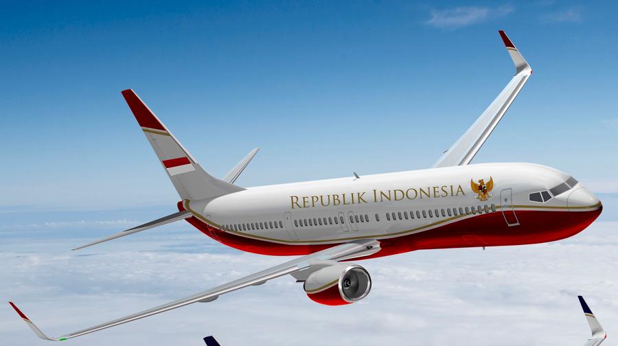 Review Pesawat Kepresidenan Republik Indonesia Mata Sykes