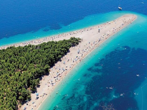 زلاتني رات: شاطئ القرن الذهبي بكرواتيا (صور لأحد أجمل الشواطئ)