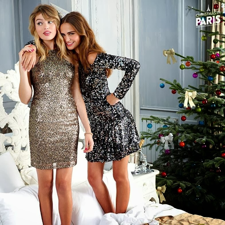 Candid Photoshoot : Xenia Deli Hot Pics from Nelly Christmas in Paris  2013