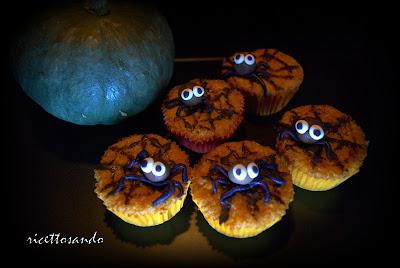 Muffins di zucca e la famelica banda ragnotti