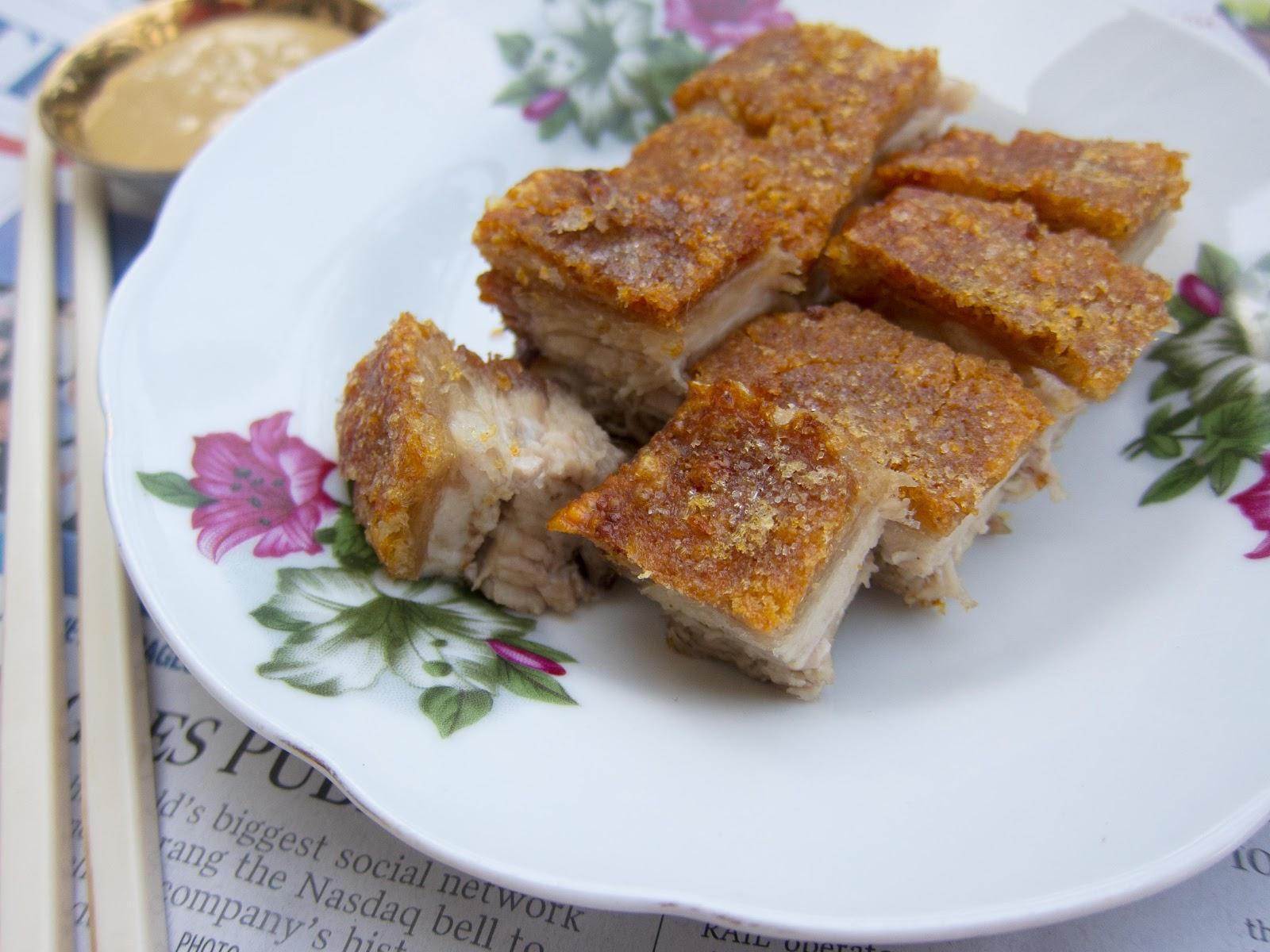 Foodmanna: Crispy cantonese roast pork (Siu Yuk)