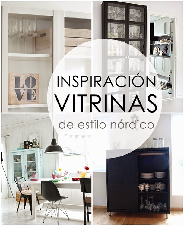 Boho deco chic ideas para comedor vitrinas y estanter as - Casas de estilo nordico ...