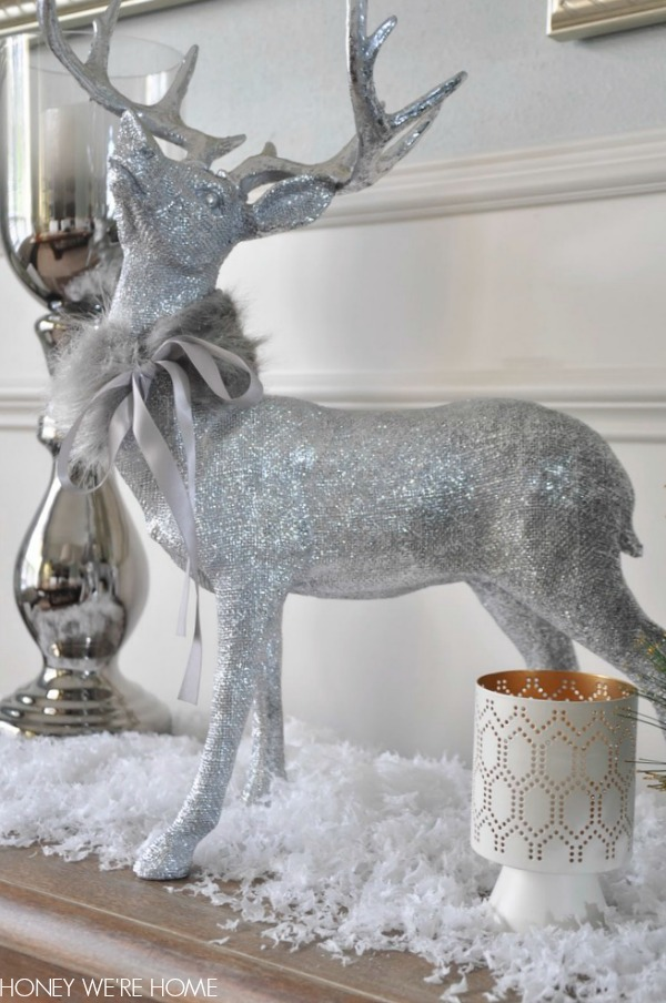 Honey we 39 re home snowflake christmas decor for Christmas reindeer decorations