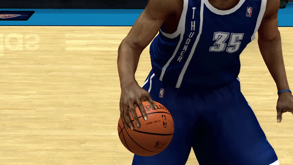 NBA 2k13 Misspelled Thunder as Thudner Jersey