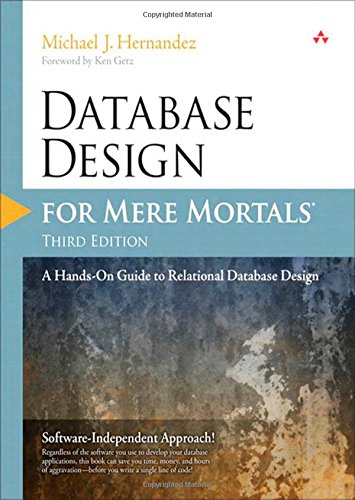 Database Design for Mere Mortals front cover
