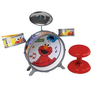sesame street drum set
