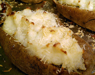 Kissing the Cook: Shepard's Pie in a Twice Baked Potato