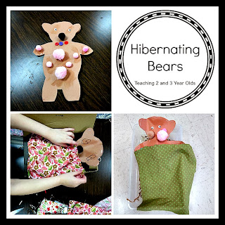 Teaching 2 and 3 Year Olds: Hibernating Bears in Preschool