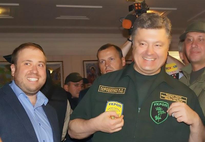 Президент Порошенко посетил Мариуполь, где встретился с представителям предприятий и бойцами армии и территориальной обороны