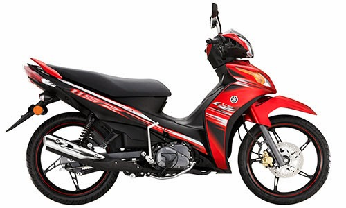 red yamaha lagenda 115z fuel injection 2013 warna merah
