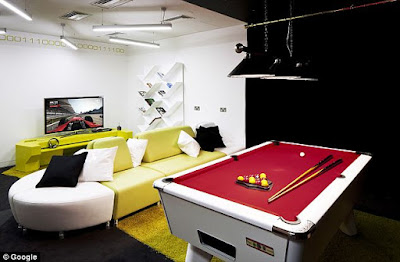 Google Office Billiard