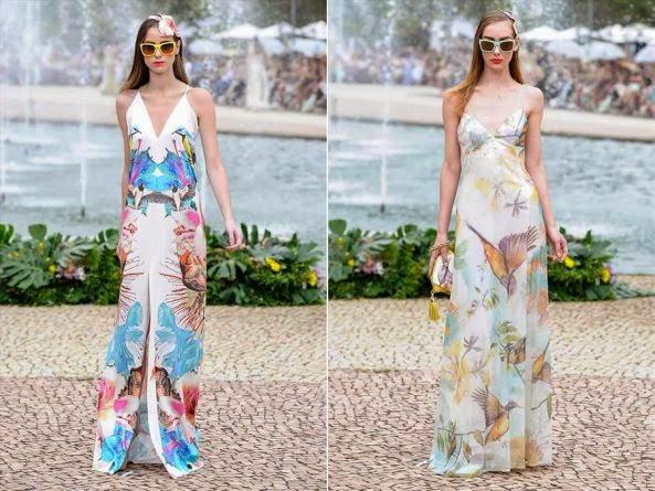 Vestidos longos são tendência para o verão 2015