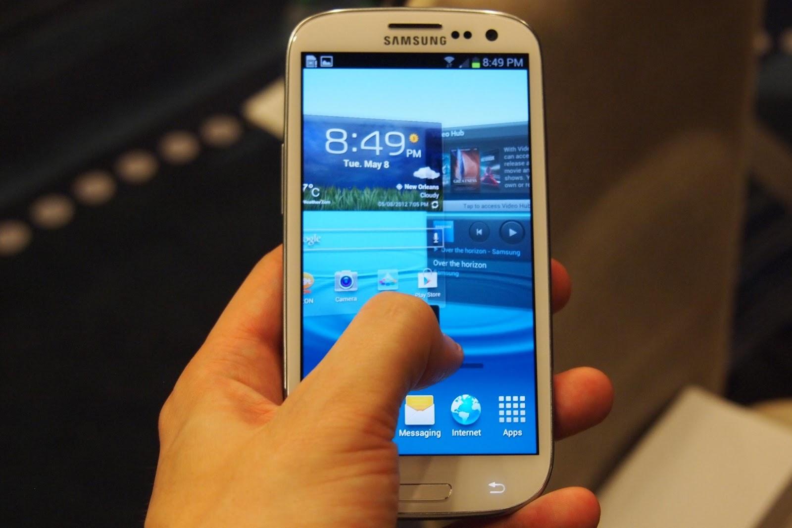 Samsung Galaxy S3 Programları