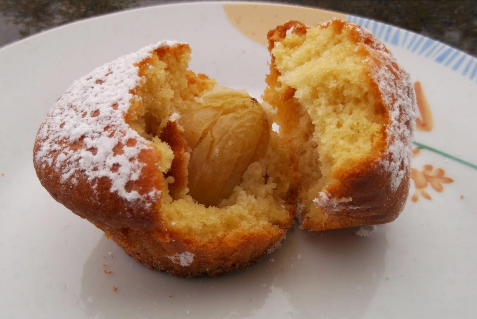 muffin con l'uva