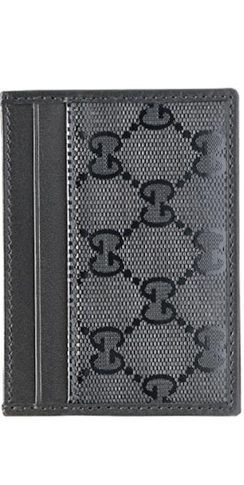 Gucci GG Imprime Leather Card Case