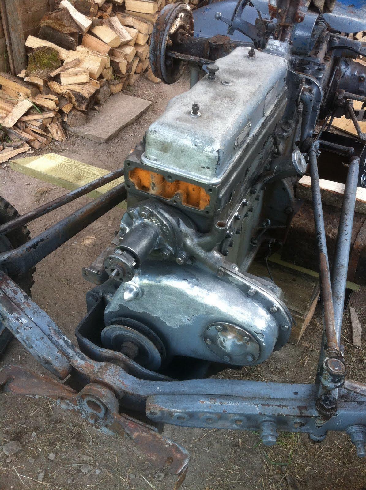 Ferguson TEF20 restoration  Lots of pictures of progress so far