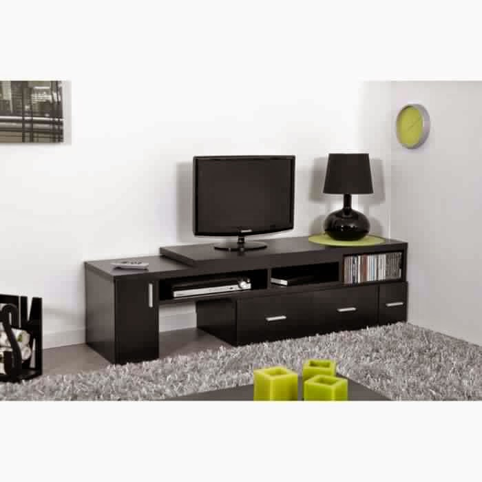 meuble tv cdiscount meuble tv. Black Bedroom Furniture Sets. Home Design Ideas